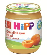 Hipp Organik Kayısı Püresi 125 gr