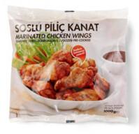 Dondurulmuş IKEA Tavuk Kanatları Soslu ve Pişmiş 1000 gr