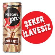 Nescafe Xpress Cafe Latte Şeker İlavesiz 250 ml