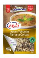 Yayla Pratik Keten Tohumlu Tarhana Çorbası 120 gr