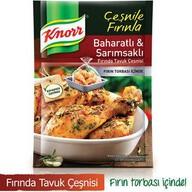 Knorr Fırında Tavuk Çeşnisi Baharatlı Sarımsaklı 37 gr