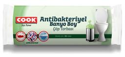 Cook Antibakteriyel Okyanus Kokulu Banyo Boy Çöp Torbası 30'lu