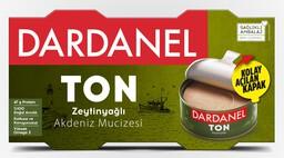 Dardanel Zeytinyağlı Ton Balığı  2x150 gr