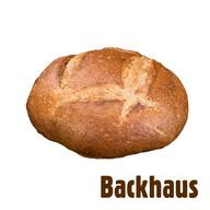 Backhaus Organik Tam Buğday Ekmeği 750 gr
