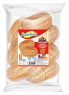 Dondurulmuş Superfresh Kepekli Mini Baget Ekmeği 300 gr