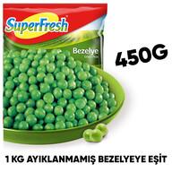 Dondurulmuş Superfresh Bezelye 450 gr