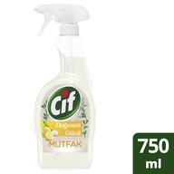 Cif Doğanın Gücü Mutfak Limon ve Karbonat Sprey Temizleyici 750 ml