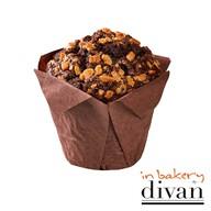 Çift Çikolatalı Muffin 110 gr-In Bakery by Divan