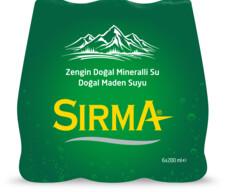 Sırma Doğal Maden Suyu 6x200 ml