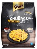 Dondurulmuş Feast Churros Patates 1 kg
