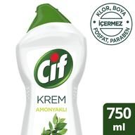 Cif Krem Temizleyici Amonyaklı 750 ml