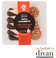 Bitter Çikolata Kenarlı Cevizli & Tarçınlı Kurabiye 270 gr-In Bakery by Divan