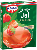 Dr. Oetker Bitkisel Çilek Aromalı Jel 100 gr