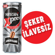 Nescafe Xpress Americano Şeker İlavesiz 250 ml