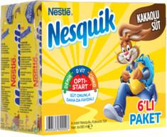 Nesquik Kakaolu Süt 6x180 ml