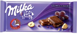 Milka Tablet Üzüm-Fındık 80 gr