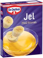 Dr. Oetker Muz Aromalı Jel 100 gr