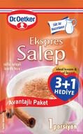Dr. Oetker Ekspres Salep 3+1 80 gr