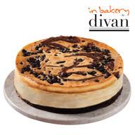 Divan Dondurulmuş Inbakery Brownie Cheesecake 1220 gr (6/8 pors)