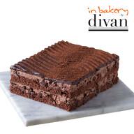Divan Dondurulmuş Inbakery Çikolatalı Pasta 550 gr (3/4 pors)