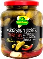Kühne Türk Tipi Kornişon Turşu 370 ml