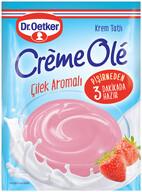 Dr. Oetker Creme Olé Çilekli Krem Tatlı 110 gr