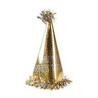 Happy New Year Altın Parti Şapkası