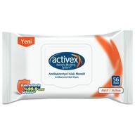 Activex Antibakteriyel Islak Mendil Aktif 56 Yaprak