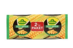 Kühne Süt Mısır 2x200 gr