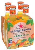 San Pellegrino Aranciata-Portakal 4x200 ml