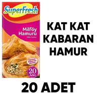 Dondurulmuş Superfresh Milföy Hamuru 1 kg