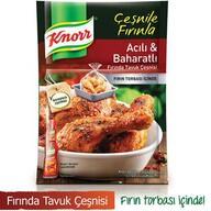 Knorr Fırında Tavuk Çeşnisi Acılı Baharatlı 34 gr