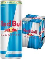 Red Bull Enerji İçeceği Şekersiz 4x250 ml