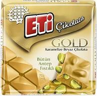 Eti Gold Antep Fıstıklı Beyaz Çikolata 60 gr