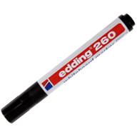 Edding 260 Beyaz Yazı Tahtası Kalemi Siyah