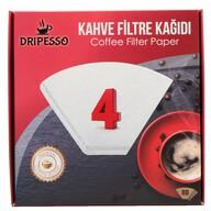 Dripesso Filtre Kahve Kağıdı 1/4 80'li