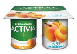 Activia Kuru Kayısılı Probiyotik Yoğurt 4x100 gr