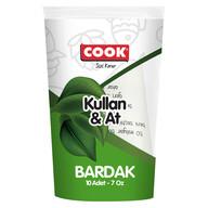 Cook Kağıt Bardak 7 oz 10 Adet