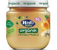 Hero Baby Organik Kayısı Muz 120 gr