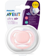 Philips Avent Ultra Air Tekli Emzik - Pembe