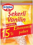 Dr. Oetker Şekerli Vanilin 15'li 75 gr