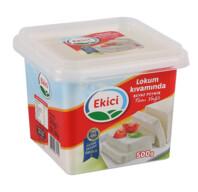 Ekici Lokum Kıvamında Tam Yağlı Beyaz Peynir 500 gr