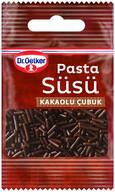 Dr. Oetker Pasta Süsü Kakaolu Çubuk 10 gr