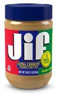 Jif Extra Crunchy Yer Fıstığı Ezmesi 454gr