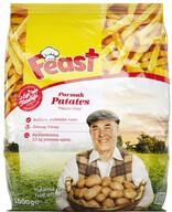 Dondurulmuş Feast Parmak Patates 1 kg (10x10)
