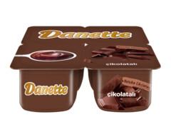 Danette Çikolatalı Puding 4x100 gr