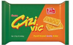 Ülker Çiziviç Peynirli Sandviç 3x82 gr