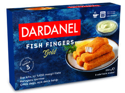 Dondurulmuş Dardanel Fish Finger Gold 250 gr