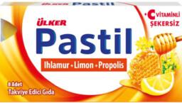 Ülker Ihlamur & Limon & Propolis 8'li Pastil